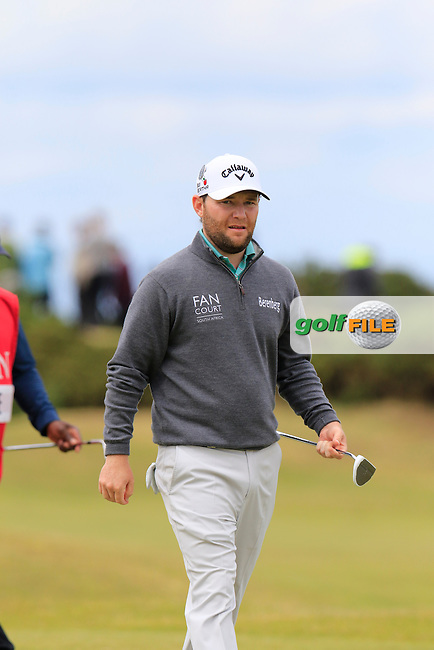 Branden GRACE (RSA) during Sunday's Round 3 of the 144th Open Championship, St Andrews Old Course, St Andrews, Fife, Scotland. 19/07/2015.<br /> Picture Eoin Clarke, www.golffile.ie