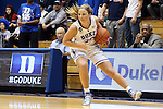 19 December 2013: Duke's Tricia Liston. The Duke University Blue Devils played the University at Albany, The State University of New York Great Danes at Cameron Indoor Stadium in Durham, North Carolina in a 2013-14 NCAA Division I Women's Basketball game. Duke won the game 80-51.