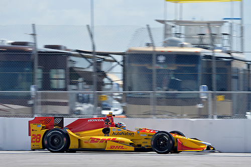 11-13 March, 2016, St Petersburg, Florida USA<br /> 28 Ryan Hunter-Reay<br /> ©2016 Scott R LePage <br /> LAT Photo USA