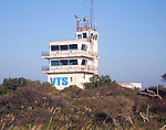 VTS Vessel Tracking Service Humber pilots building, Spurn Head, Yorkshire, England