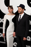 Leonor Watling and Jorge Drexler attends GQ Men of the Year 2012 Awards at Palace Hotel on November in Madrid, Spain. November 19, 2012. (ALTERPHOTOS/Caro Marin) /NortePhoto