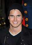 "BEVERLY HILLS, CA. - December 12: Robbie Amell attends the ""Family Guy Something, Something, Something, Dark Side"" DVD Release Party at a private residence on December 12, 2009 in Beverly Hills, California."