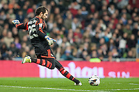 Diego Lopez goal kick