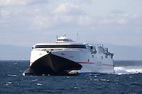 Ferry de Acciona Algeciras Céuta - Club Náutico El Campello - 1ª REGATA VELA CRUCERO EL CAMPELLO - CIUDAD AUTÓNOMA DE CEUTA - I TROFEO CAERO