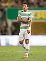 Celtic's Emilio Izaguirre at the end of the game.