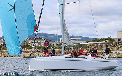 John Treanor's Justina has made the trip from Dublin Bay for the KYC Fastnet Race