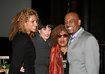 """Michelle Hurd (Another World - Gossip Girl)- Linda Dano (ABC soaps & A/W) - Roberta Flack (sang a song on OLTL) - Montel Williams """"Clayton Boudreau"""" on GL and on AMC is host of the First Annual StarPet 2008 Awards Luncheon as dogs and cats compete for a career in showbusiness on November 10, 2008 at the Edison Ballroom, New York, New York. The event benefitted Bideawee and NY SAVE. (Photo by Sue Coflin/Max Photos)"""