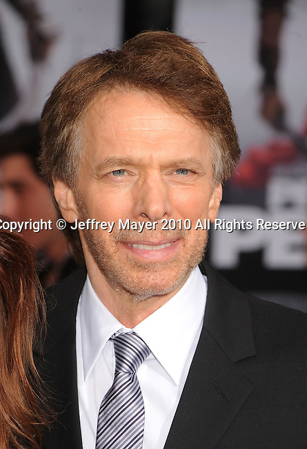 "HOLLYWOOD, CA. - May 17: Jerry Bruckheimer  arrives at the ""Prince of Persia: The Sands of Time"" Los Angeles Premiere held at Grauman's Chinese Theatre on May 17, 2010 in Hollywood, California."