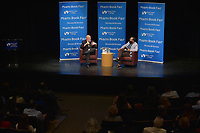 MIAMI, FL - OCTOBER 30: Astronaut Scott Kelly In Conversation With Dr. Jorge Perez-Gallego about his new book 'ENDURANCE: A year in space a life time of discovery' at Miami Dade College, Wolfson Campus Auditorium on Monday October 30, 2017 in Miami, Florida.  Credit: MPI10 / MediaPunch