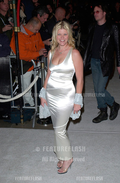 Actress SARAH ANN MARSH at the Hollywood premiere of Blow..29MAR2001. © Paul Smith/Featureflash