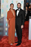 LONDON, UK - FEBRUARY 10: Maria Dolores Dieguez and Joseph Fiennes at the 72nd British Academy Film Awards held at Albert Hall on February 10, 2019 in London, United Kingdom. Photo: imageSPACE/MediaPunch<br /> CAP/MPI/IS<br /> ©IS/MPI/Capital Pictures