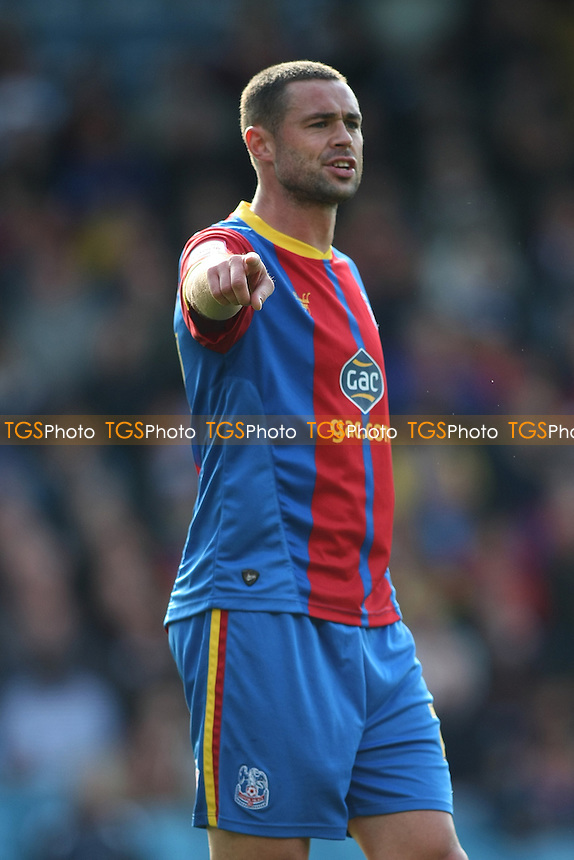 Damien Delaney of Crysrtal Palace- Crystal Palace vs Cardiff City - NPower Championship Football at Selhurst Park, London - 22/09/12 - MANDATORY CREDIT: George Phillipou/TGSPHOTO - Self billing applies where appropriate - 0845 094 6026 - contact@tgsphoto.co.uk - NO UNPAID USE.