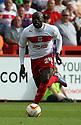 Patrick Agyemang of Stevenage.  Stevenage v Shrewsbury Town - npower League 1 -  Lamex Stadium, Stevenage - 1st September, 2012. © Kevin Coleman 2012.