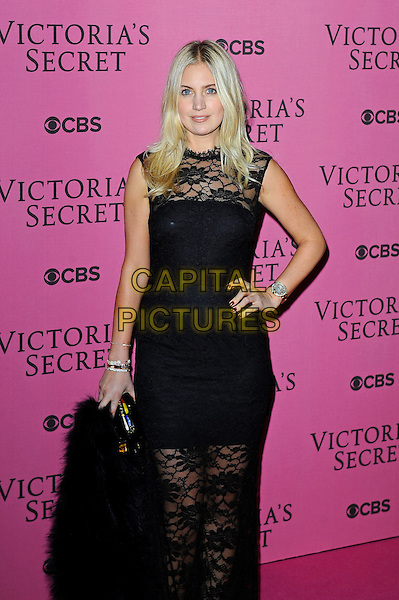 LONDON, ENGLAND - DECEMBER 2: Marissa Montgomery attends the pink carpet for Victoria's Secret Fashion Show 2014, Earls Court on December 2, 2014 in London, England.<br /> CAP/MAR<br /> &copy; Martin Harris/Capital Pictures