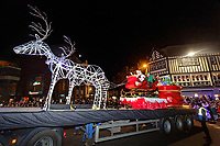 2018 11 18 Christmas lights switch on, Swansea, UK