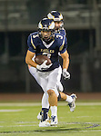 El Segundo, CA 10/30/14 - Miguel Wagner-Bagues (El Segundo #3) in action during the Lawndale - El Segundo Varsity football game at El Segundo High School.  El Segundo defeated Lawndale 35-14.