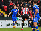 10th February 2018, Bramall Lane, Sheffield, England; EFL Championship football, Sheffield United versus Leeds United; Adam Forshaw of Leeds United carries the ball forward