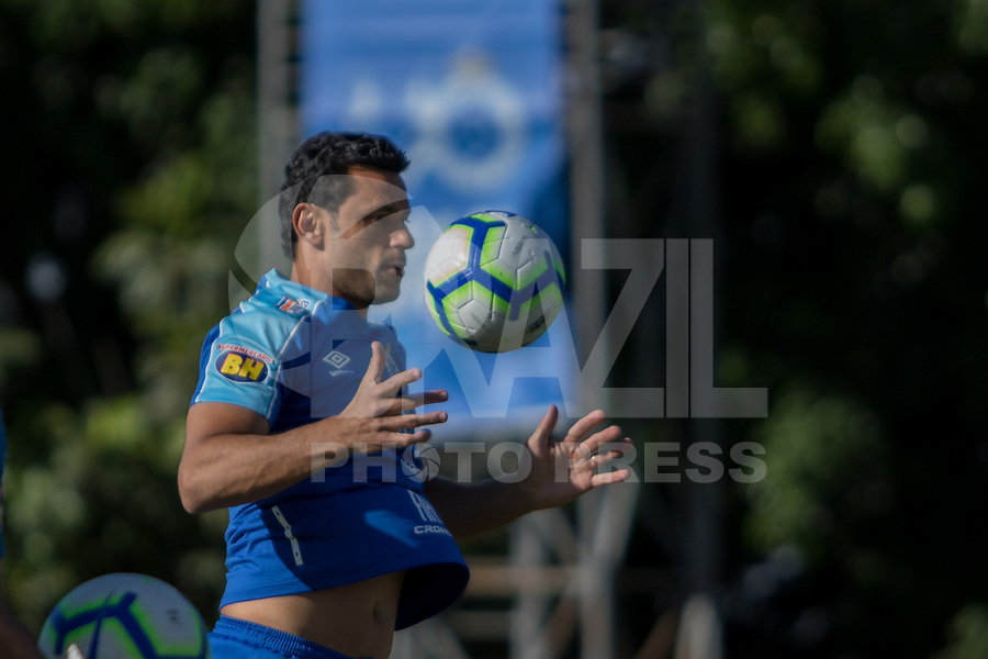 Belo Horizonte (MG) 06/07/2019 – Fred do Cruzeiro durante jogo treino contra o Inter de Minas de Itaúna, na Toca da Raposa II, na região da Pampulha, em Belo Horizonte, neste sábado, 06.(Foto: Doug Patricio/Brazil Photo Press)