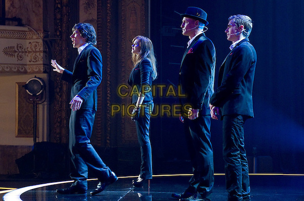 JESSE EISENBERG, ISLA FISHER, DAVE FRANCO, WOODY HARRELSON<br /> in Now You See Me (2013) <br /> *Filmstill - Editorial Use Only*<br /> CAP/NFS<br /> Image supplied by Capital Pictures