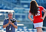 19 May 2012: Washington Nationals Team Photographer Mitchell Layton takes promotional photos prior to a game against the Baltimore Orioles at Nationals Park in Washington, DC. The Orioles defeated the Nationals 6-5 in the second game of their 3-game series. Mandatory Credit: Ed Wolfstein Photo