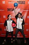 Rachel Brosnahan and Jason Ralph attends the Second Stage Theatre 2018 Bowling Classic at Lucky Strike  on February 12, 2018 in New York City.