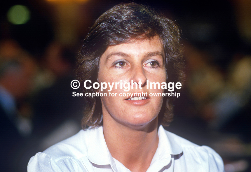 Caroline Pinder, Labour Party, UK, PPC, prospective parliamentary candidate, Macclesfield, 19860926CP <br />