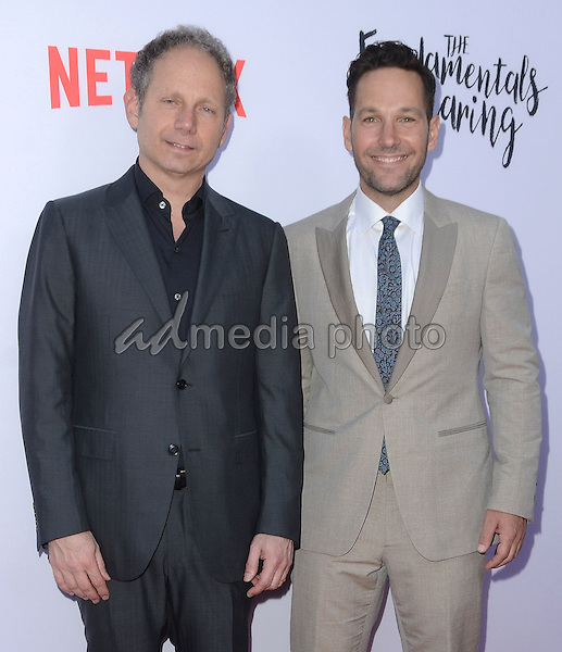 """23 June 2016 - Hollywood. Rob Burnett, Paul Rudd. Arrivals for the Los Angeles special screening of Netflix's """"The Fundamentals Of Caring"""" held at ArcLight Hollywood. Photo Credit: Birdie Thompson/AdMedia"""