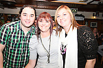 Antoine Judge, Lynn Faulkner and Kim Faulkner at the Xfactor Party in McPhails...(Photo credit should read Jenny Matthews www.newsfile.ie)....This Picture has been sent you under the condtions enclosed by:.Newsfile Ltd..The Studio,.Millmount Abbey,.Drogheda,.Co Meath..Ireland..Tel: +353(0)41-9871240.Fax: +353(0)41-9871260.GSM: +353(0)86-2500958.email: pictures@newsfile.ie.www.newsfile.ie.