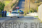 Crash on the Doon Road near Tralee between a Motor cycle and a car in which one person died on Thursday........................... ..........
