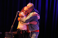 LONDON, ENGLAND - OCTOBER 8: John Otway and Jilted John (Graham Fellows) performing at 229 on October 8, 2018 in London, England.<br /> CAP/MAR<br /> ©MAR/Capital Pictures