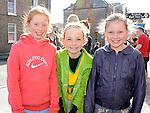 Moya McCabe, Ciara and Leah Gough who took part in the Saint Vincent de Paul sponsored 5Km run. Photo: Colin Bell/pressphotos.ie