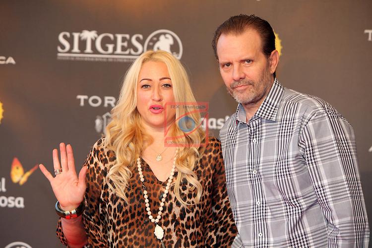 49 Festival Internacional de Cinema Fantastic de Catalunya-Sitges 2016.<br /> Red Carpet Inside.<br /> Jennifer Blanc &amp; Michael Biehn.