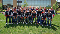 The USA Men's National Soccer Team poses for a team photo on the ESPN campus, in Bristol, CT, Wednesday, May 26, 2010 to announce the 23 players heading to South Africa for the 2010 World Cup. .