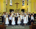 St. Patrick Church 2013 First Communion Class