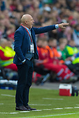June 10th 2017, Ullevaal Stadion, Oslo, Norway; World Cup 2018 Qualifying football, Norway versus Czech Republic; Karel Jarolim, Czech Republic coach  gives instruction to his players during the FIFA World Cup qualifying match