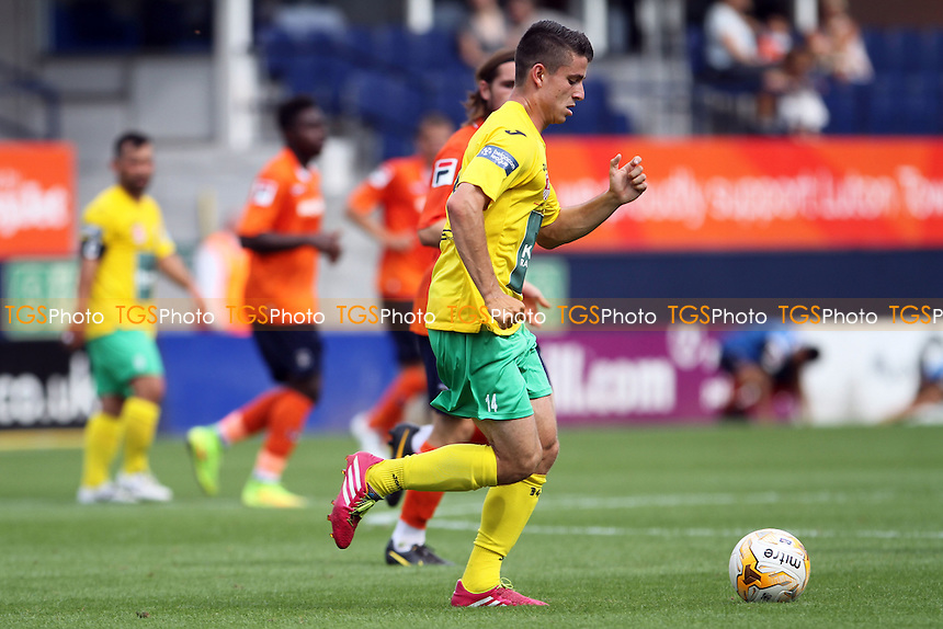 Umberto  Carvalho (Royal Antwerp) runs with the ball - Luton Town vs Royal Antwerp - Pre-Season Friendly Football Match at Kenilworth Road, Luton, Bedfordshire - 26/07/14 - MANDATORY CREDIT: Mick Kearns/TGSPHOTO - Self billing applies where appropriate - contact@tgsphoto.co.uk - NO UNPAID USE