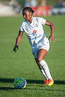 Kansas City, MO - Sunday September 11, 2016: Tiffany McCarty during a regular season National Women's Soccer League (NWSL) match between FC Kansas City and the Chicago Red Stars at Swope Soccer Village.