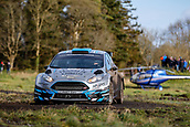 10th February 2019, Galway, Ireland; Galway International Rally; Declan Boyle and Brian Boyle (Ford Fiesta R5) finish in 7th place overall