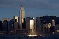 China, Hongkong-Wanchai, Central Plaza Gebäude, Blick von Kowloon