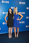 Two Broke Girls - Kat Dennings & Beth Behrs - CBS Upfront 2012 at the Tent in Lincoln Center, New York City, New York. (Photo by Sue Coflin/Max Photos)