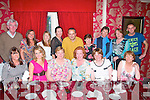 Staff of Killahan National school,Abbeydorney had their end of term dinner celebration at Cassidy's restaurant,Tralee last Friday evening(seated)L-R Kerry Donegan,Karen Lawlor,Mary Nolan,Siobhan Quilter,Kay Weir and Veronica Kirby(Back)L-R Ger Doyle(Principal)Maura O'Sullivan,Mags Lacey,Maura Enright,Ben Perkins,Lorretta Sheehy,Grace Pinckheard,Bri?d Leonard and Jimmy Merebet..