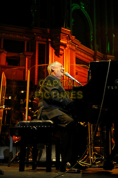 LONDON, ENGLAND - OCTOBER 23: Neil Sedaka performing at the Royal Albert Hall on October 23, 2014 in London, England.<br /> CAP/MAR<br /> &copy; Martin Harris/Capital Pictures