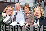 Ciara Irwin Foley (President Killarney Rotary Club), Marcin Gradeski (Mentons Cafe?), Kathleen O'Regan-Sheppard (South West Counselling Centre PRO) and Eve Kelliher (Killarney Rotary Club) reminding everyone to come along to the Killarney Rotary club coffee morning in Menton's Cafe? Killarney on the 29th February   Copyright Kerry's Eye 2008