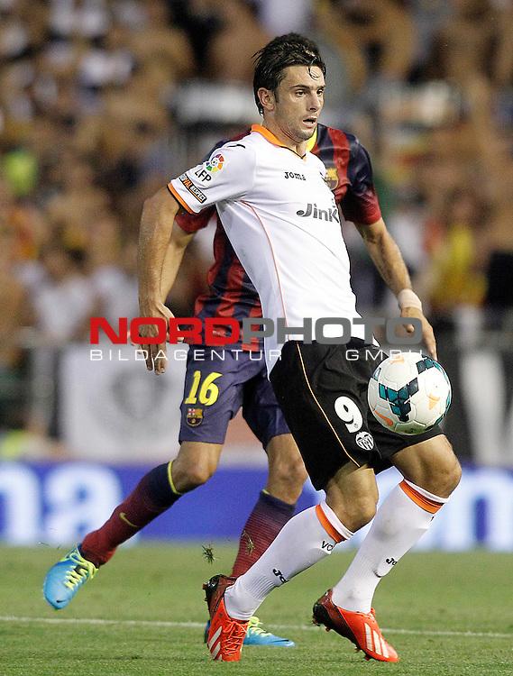 Valencia's Helder Postiga during La Liga match.September 1,2013. Foto © nph / Acero)