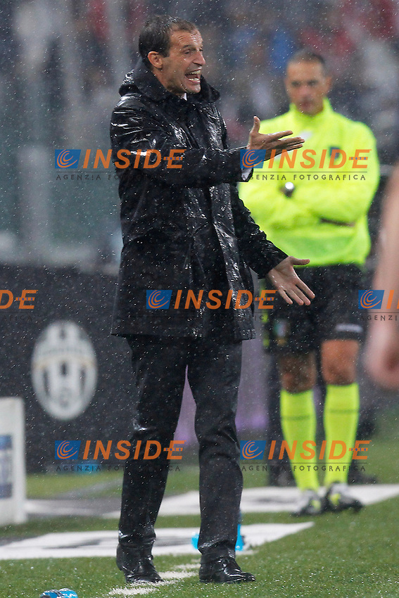 Massimiliano Allegri Milan,<br /> Torino 06-10-2013<br /> Juventus Stadium <br /> Football Calcio 2013/2014 Serie A <br /> Juventus - Milan<br /> Foto Marco Bertorello Insidefoto