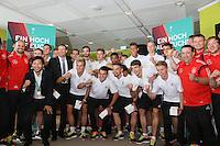 01.08.2014: Empfang der U19 Nationalmannschaft