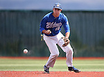 Wildcats' Chad Bell makes a play against Eastern during a game at Western Nevada College in Carson City, Nev., on Friday, April 29, 2016.<br />Photo by Cathleen Allison
