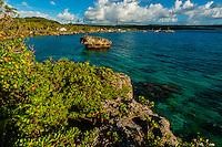 Tadine Bay, Island of Mare, Loyalty Islands, New Caledonia