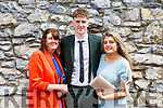 James Rusk with his mom Helen and sister Ellen attending his Mercy Mounthawk Graduation ceremony in St John's on Friday.