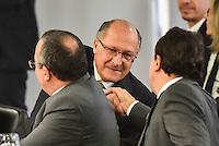BRASÍLIA, DF, 20.06.2016 – TEMER-GOVERNADORES – O governador de São Paulo, Geraldo Alckmin durante reunião com Governadores, na tarde desta segunda-feira, 20, no Palácio do Planalto.(Foto: Ricardo Botelho/Brazil Photo Press)